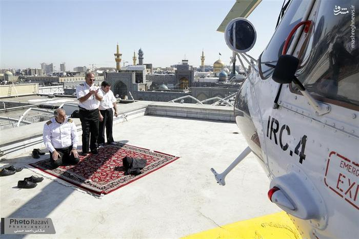 نماز خلبانان امداد