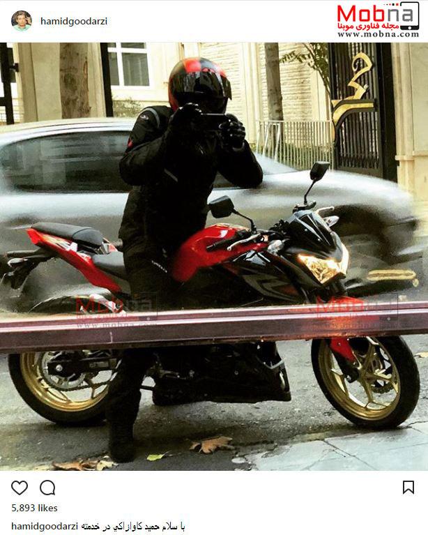 تیپ موتورسواری حمید گودرزی
