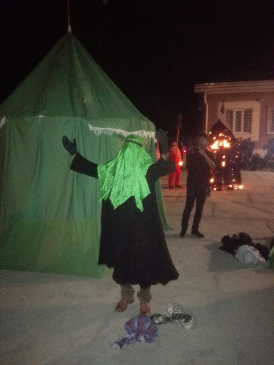 خیمه سوزان در روستای آلوکلاته3