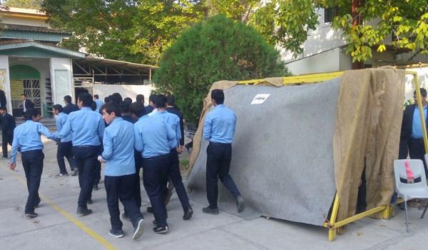 برگزاری رزمایش دانش آموزی پدافند غیرعامل در گرگان