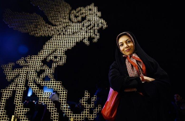 مصاحبه با آزاده نامداری در کاخ جشنواره