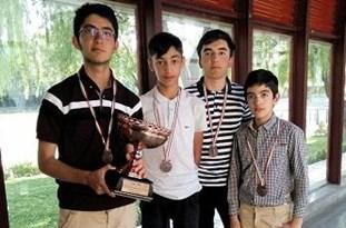 مقام سوم مسابقات قهرمانی گلف