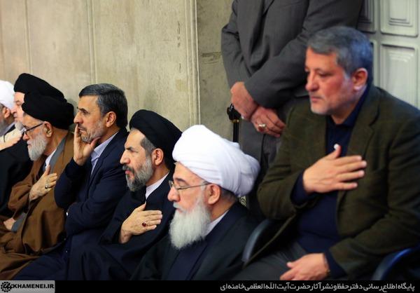 احمدی نژادترحیم هاشمی