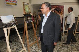نمایشگاه عکس با موضوع پیاده روی اربعین