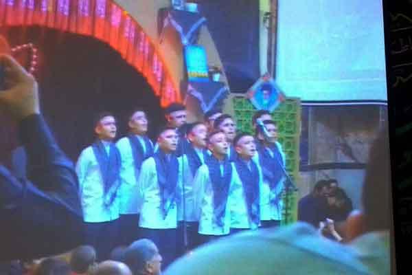 مهمان ویژه نخستین یادواره شهدای سادات گرگان2