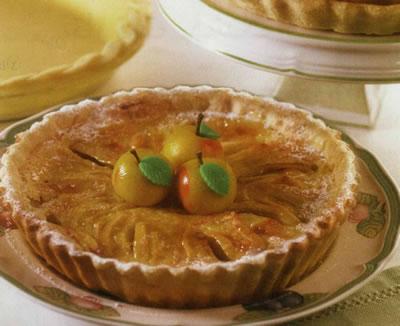 تارت سیب و خامه از شبکه همدان