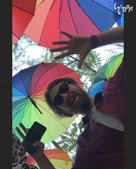سلفی چتری
