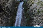 آدم چاغران آبشار زیبایی که برای دیدنش نیاز به مجوز دارید