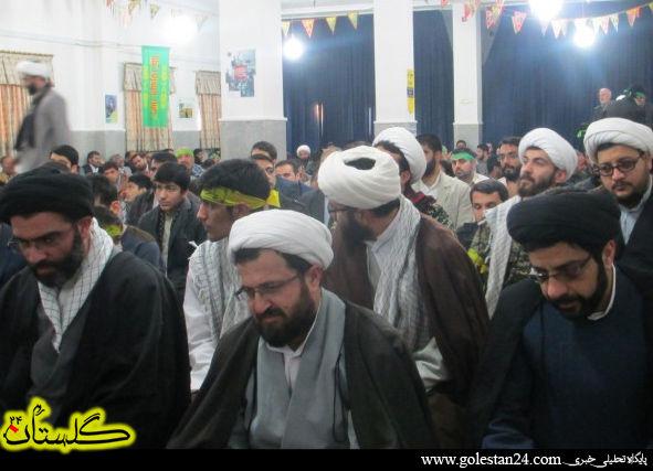 یادوراه 14شهید حوزه علمیه امام صادق(ع) برگزار شد