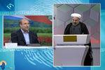 دانلود کلیپ بحث روحانی و قالیباف در میان مناظره