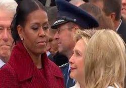 حالات چهره اوباما در مراسم تحلیف ترامپ، سوژه داغ فضای مجازی+تصاویر