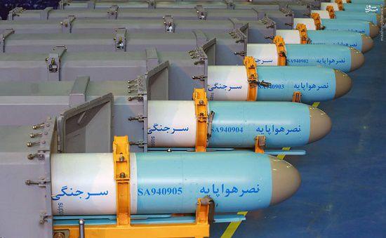 مشت جنگندههای ایرانی با «نصر» کامل شد؛ آشنایی با 5 موشک کروز هوا به دریا +عکس