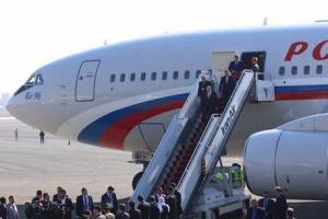 هواپیمای مخصوص پوتین
