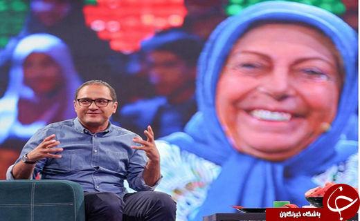 گلایه ثریا قاسمی از مادرش/ گریه نمایشی خانم بازیگر در «خندوانه»