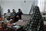 دیدار از 30 خانواده شهید جامعه کارگری گلستان