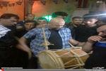 عکس/ صداپیشه جناب خان در عزاداری بوشهر