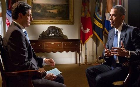 اوباما در مصاحبه با بی بی سی انگلیسی