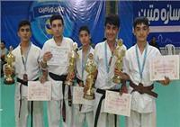 کسب عناوین درخشان مسابقات آسیایی توسط کاراته کاران گلستانی + تصاویر