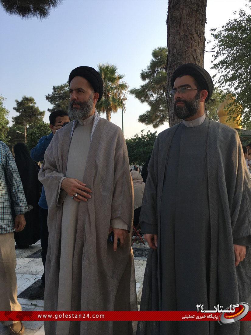 عطر افشانی مزار شهید طاهری (6)