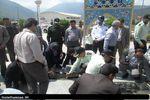 تجدید میثاق مسئولین شهرستان رامیان با شهدای گمنام+تصاویر