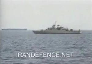 رویارویی ناوهای جنگی ایران و امریکا