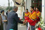 ادای احترام مسئولان ارشد قضایی گلستان به آتش نشانان