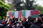 دانود/ تشییع شهید ایرانی مدافع حرم در بینالحرمین