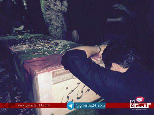 وداع شهید سیدمهدی حسینی (21)
