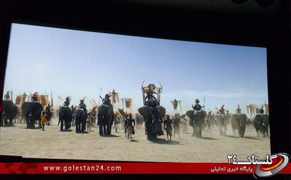 اکران فیلم محمد رسول الله در گرگان 1