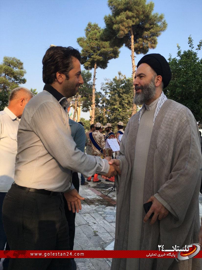 عطر افشانی مزار شهید طاهری (5)