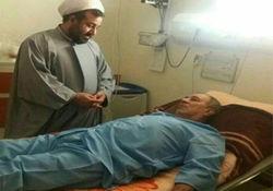 عکس / فرماندار گرگان به دلیل شوکه شدن از فوت آیت الله هاشمی در بیمارستان بستری شد