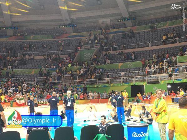 عکس/ حال و هوای والیبالیستها بعد از باخت