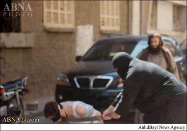 اعدام فجیع دیگر از داعش