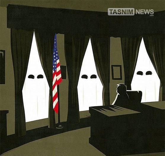 کاریکاتور/ ترامپرست !!