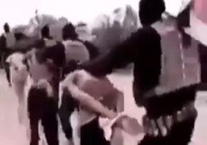 لحظهی دستگیری تروریست