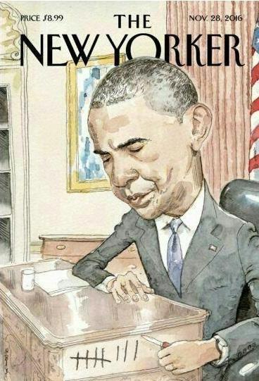 روزهای پایانی اوباما