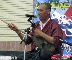 استاد بزرگ موسیقی اصیل ترکمنی