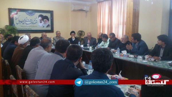 پاسخگویی مسئولین ادارات کردکوی به استاندار درباره حادثه سیل اخیر این شهرستان