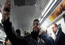 عکس / سلفی با قالیباف در مترو