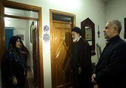 رئیس سازمان حج با خانواده فرماندار بندر ترکمن دیدار کرد+تصویر