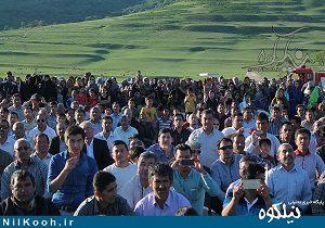 حواشی مراسم نکوداشت مختوم قلی فراغی در گالیکش