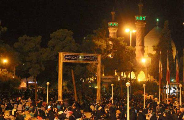 تصاویر/ تجلی ارادت عزاداران علوی دارالمومنین گرگان در شب شهادت مولا