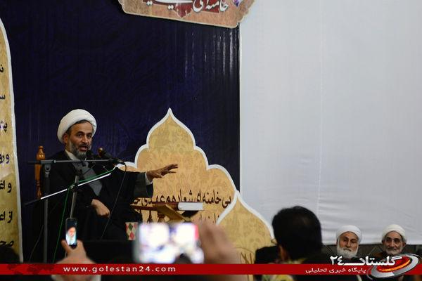 مراسم بزرگداشت حضرت امام خمینی(ره) درگرگان، با حضور حجت الاسلام علیرضا پناهیان