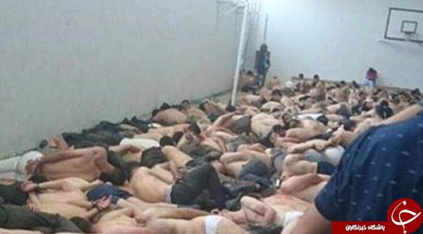 تصاویر تکاندهنده از نیروهای نظامی بازداشت شده ترکیه +4عکس