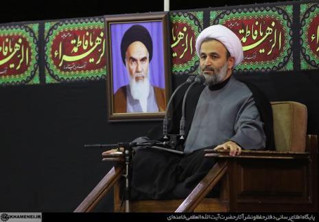 سخنرانی حجت اسلام پناهیان در محضر رهبر