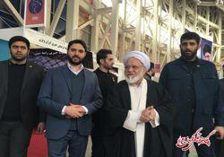 عکس/ بازدید حجت الاسلام مصباحیمقدم از غرفه گلستان24