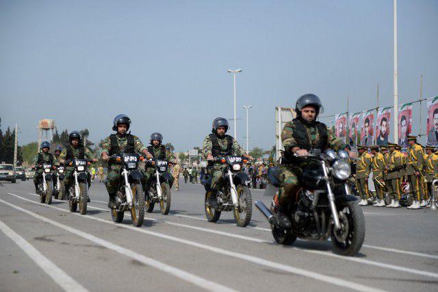 روز ارتش در گرگان