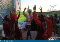 تصاویر/ رقص مختلط ترکمنی در حضور مسئولین گالیکش !!!