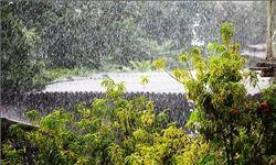 بارش تگرگ در گلستان