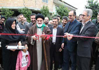 خانه بهداشت روستای دنگلان افتتاح و به بهره برداری رسید + تصاویر